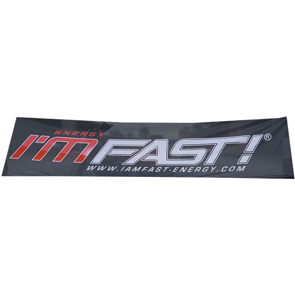 I'M FAST! Flagge 300x75cm
