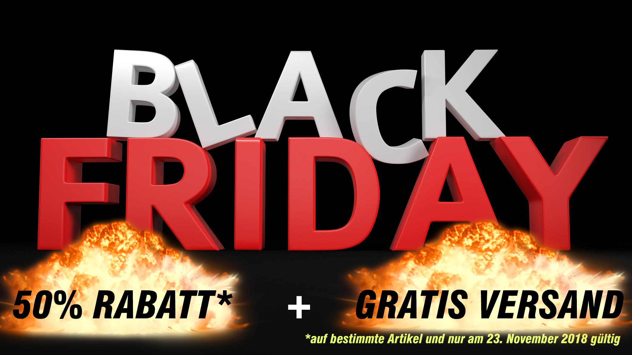 BLACK FRIDAY 50% RABATT